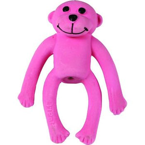 Coastal Lil Pals Toy Latex Monkey Pink