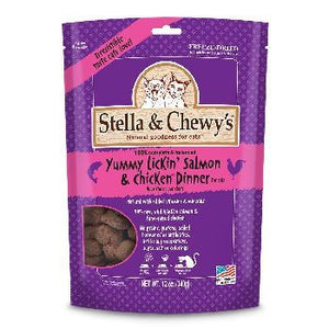 Stella & Chewy's Cat FD Yummy Lickin Salmon & Chicken 3.5 oz