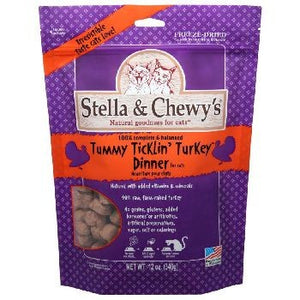 Stella & Chewy's Cat FD Tummy Ticklin Turkey 9 oz