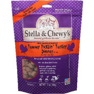 Stella & Chewy's Cat FD Tummy Ticklin Turkey 18 oz