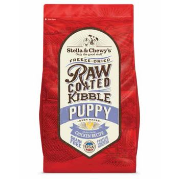 Stella & Chewy's Dog Dry GF Raw Coated Puppy Chicken Cage-Free10#