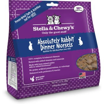 Stella & Chewy's Cat FD Absolutely Rabbit 9 oz