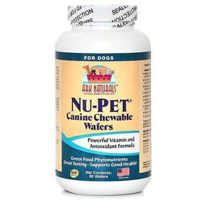 Ark Naturals Nu-Pet Canine Wafers 90 Chewable Tabs