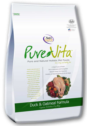 PureVita Duck & Oatmeal Dog Food