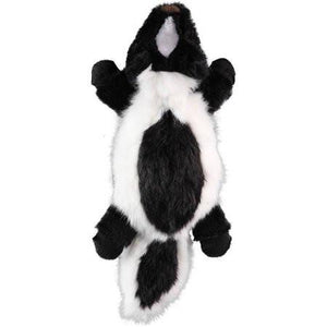 GoDog Flatz Skunk with Chew Guard, Large