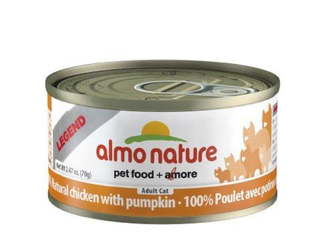Almo Nature Chicken and Pumpkin Cat Food 2.47 oz