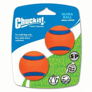 Chuckit! Launcher Compatible Ball Ultra Small 2 Pack