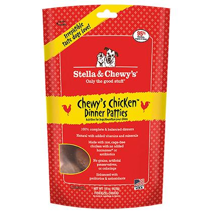 Stella & Chewy's Freeze-Dried Raw Dinner Patties - Chewy's Chicken