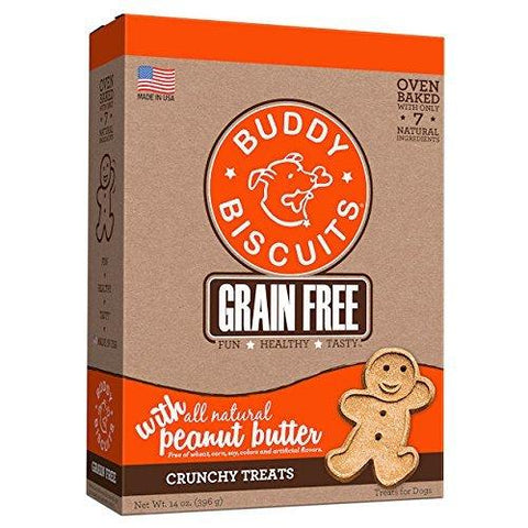 Cloud Star Buddy Biscuit GF Oven Baked Peanut Butter 14 oz