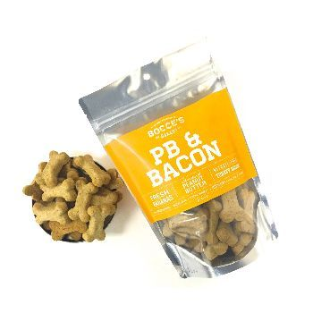 Bocce's Bakery Small Batch Peanut Butter & Bacon 8 oz Bag