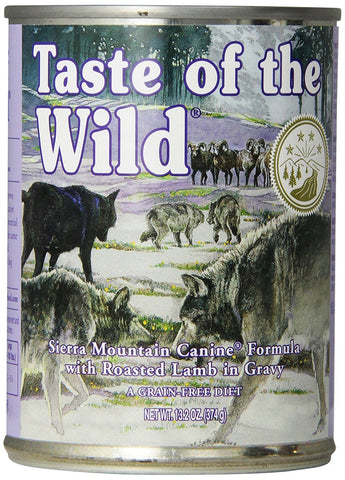 Taste of the Wild Sierra Mountain Lamb Canned Dog Food