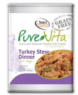 PureVita Grain Free Turkey Stew