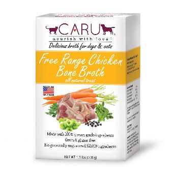 Caru Dog & Cat Bone Broth Chicken Free Range 17.6 oz