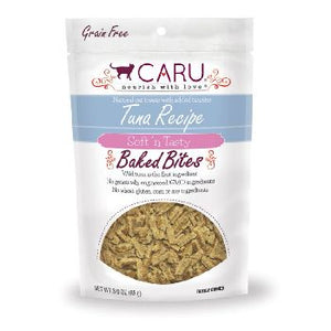 Caru Cat Treats Baked Natural Tuna Bites 3 oz
