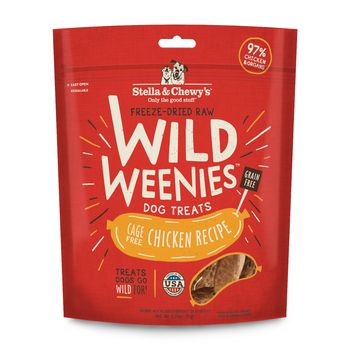 Stella & Chewy's Dog Treat FD Wild Weenies Chicken 3.25 oz