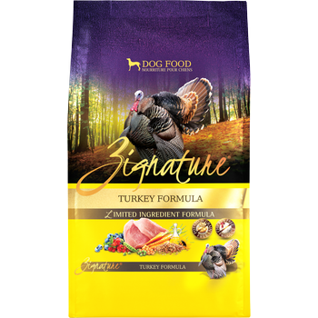 Zignature Dog Dry GF Limited Ingredient Turkey Formula 13.5#