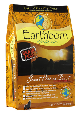Earthborn Grain-Free Holistic Great Plains Feast