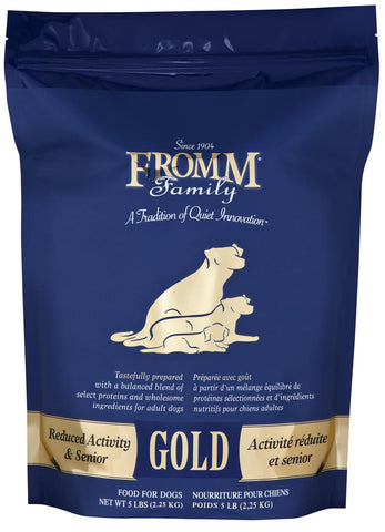 Fromm Gold Reduced Activity & Senior Dog