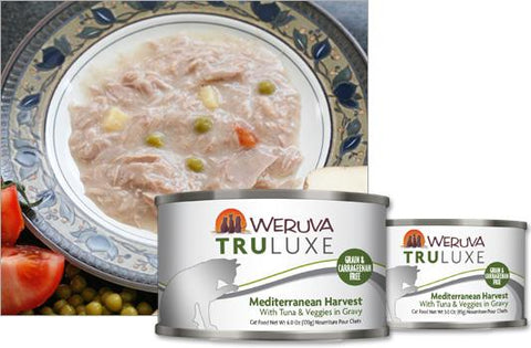 Weruva Truluxe Canned Cat Food - Mediterranean Harvest