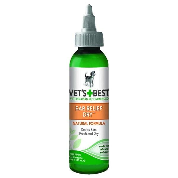 Vet's Best Ear Relief Dry 4 oz