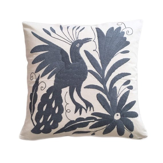 16x16 - Otomi Hand Embroidered Pillow