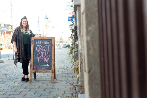 Ottawa popup shop, Ottawa boutique, made in canada shop