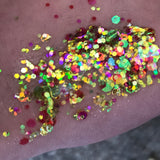 Jungle Juice glitter gel