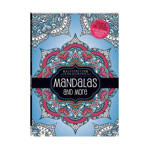 Kaleidoscope Colouring: Mandalas and More