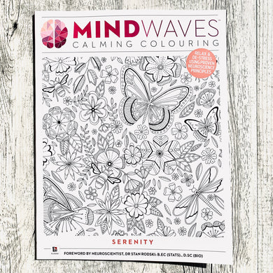 Serenity Calming Colouring Book