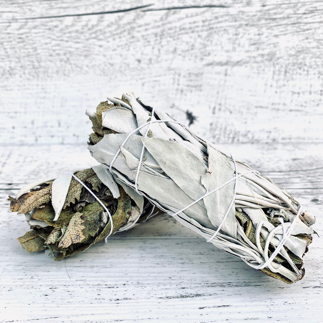 White Sage Yerba Santa Smudge Stick