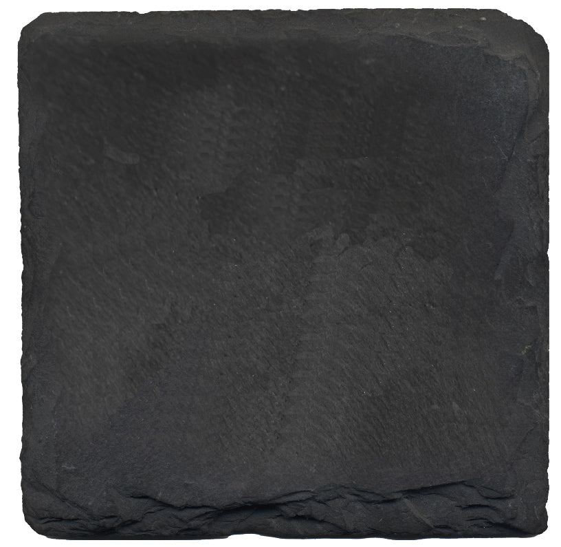Slate Square Coaster-Set of 4