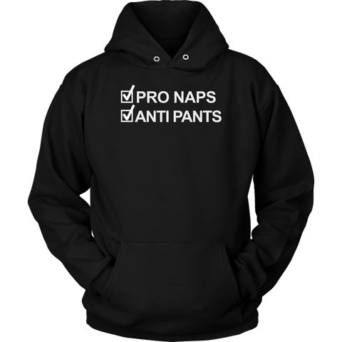 PRO NAPS ANTI PANTS HOODIE, Hoodies, Think Bazaar