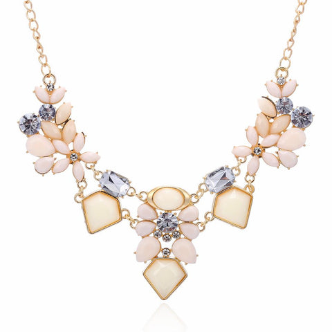 Gorgeous Flower Necklace, Necklaces, Think Bazaar