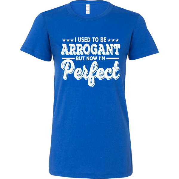 I USED TO BE ARROGANT T-SHIRT, T-shirt, Think Bazaar