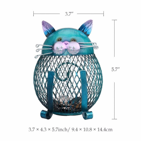 HANDCRAFTED KITTY CAT MONEY BANK, Money Boxes, Think Bazaar
