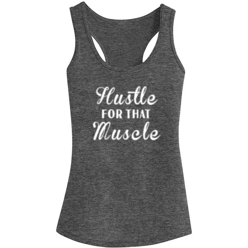 HUSTLE FOR THAT MUSCLE TANK TOP, Tank Tops, Think Bazaar