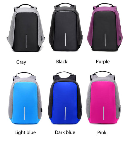 ANTI-THEFT MOST FUNCTIONAL BACKPACK, Gadgets, Think Bazaar