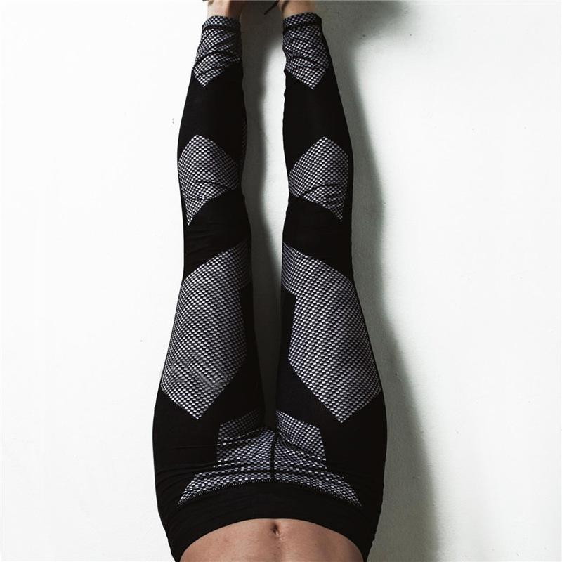 GEOMETRIC LEGGINGS, Leggings, Think Bazaar