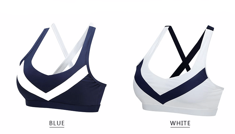 CROSS STRAP V SPORTS BRA, Sports Bras, Think Bazaar