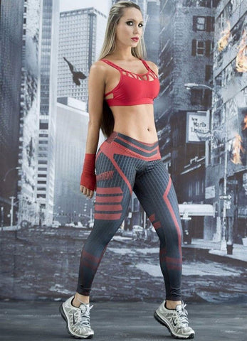 DAREDEVIL FITNESS LEGGINGS, Leggings, Think Bazaar