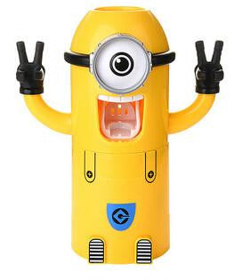 Minions Toothpaste Dispenser, Baby, Think Bazaar