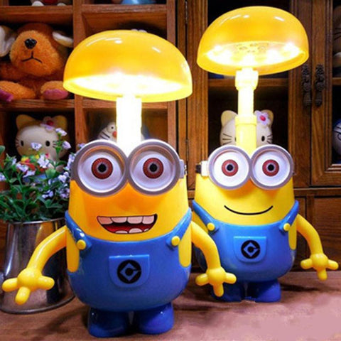 Minions Desk Lamps - Piggy Bank, Baby, Think Bazaar