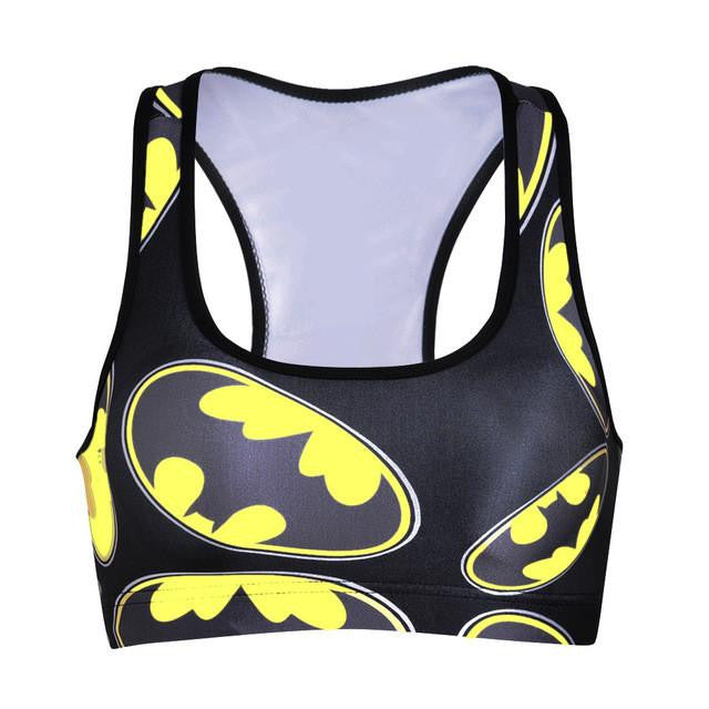 BAT SIGNAL SPORTS BRA, Sports Bras, Think Bazaar