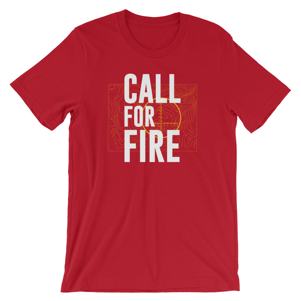 Call For Fire Short Sleeve Shirt (No Flag)