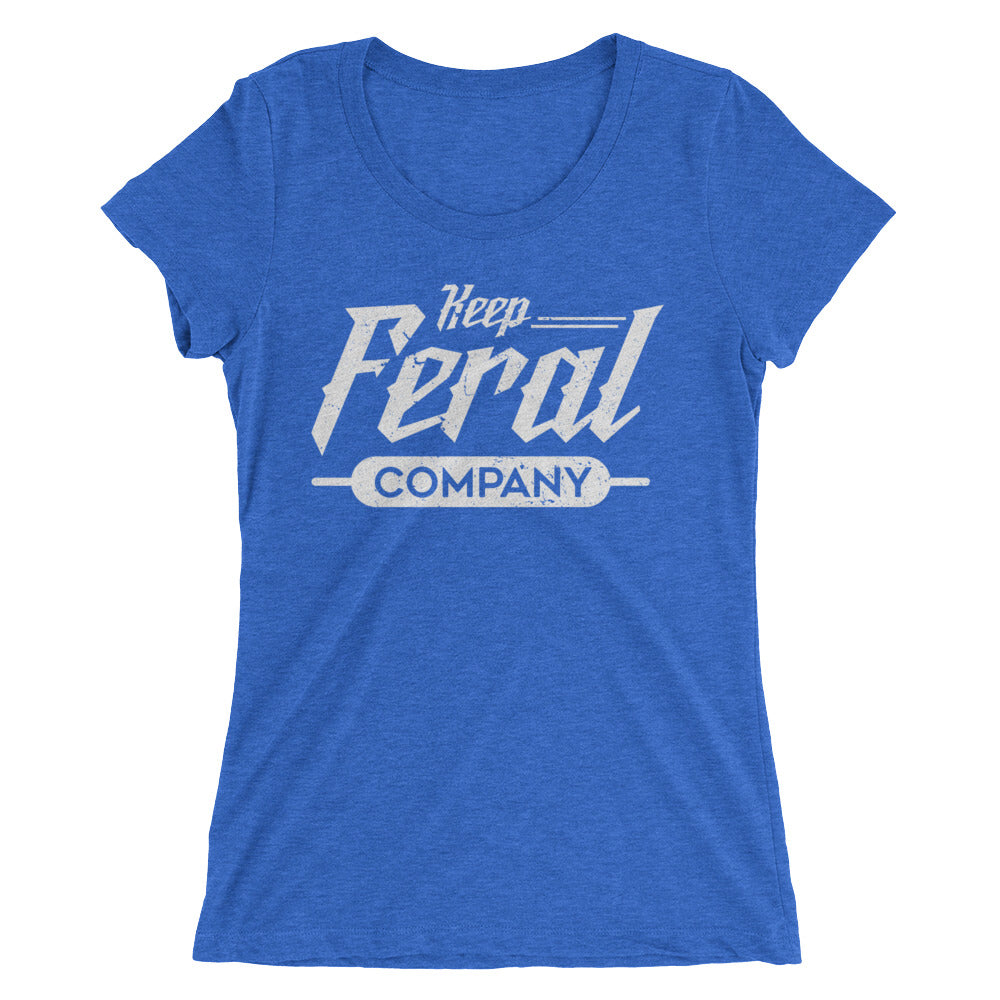 Recklessly Feral Ladies' short sleeve t-shirt