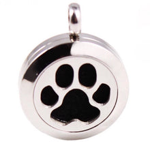 Locket Paw Icon PLUS Chain - Stainless Steel