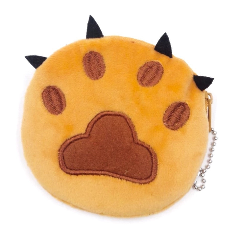 Coin Purse Paw Print - Tan & Brown