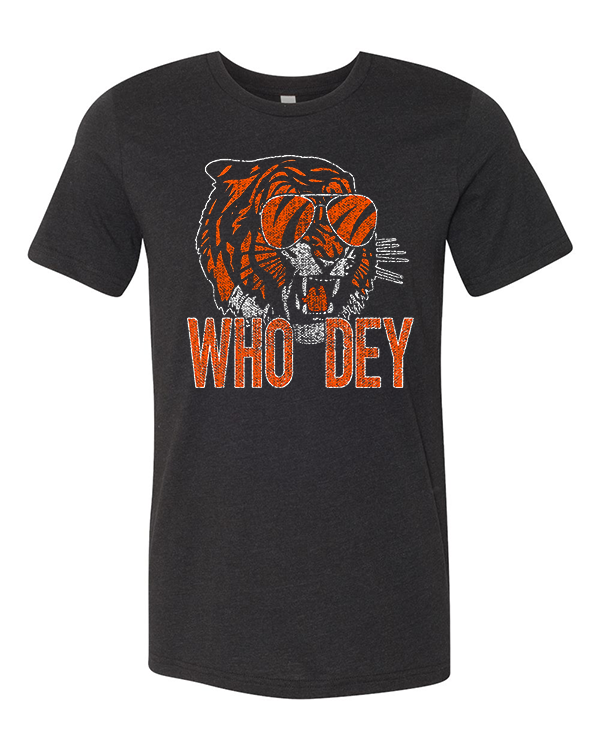 Cin City Throwin' Shade Who Dey Tee