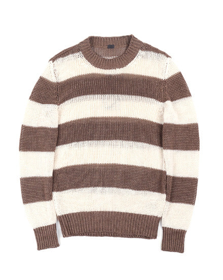 French Stripe Pullover (Lino Vintage) by 991 Japan - KAZUNA