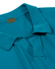 Plain front Polo shirt with no button - GIZA45 By 991 Japan - KAZUNA